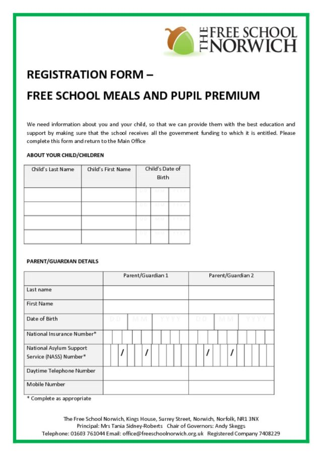 thumbnail of FSM Pupil Premium Form