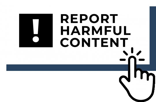 Discovered some harmful content? Use this tool to submit a report